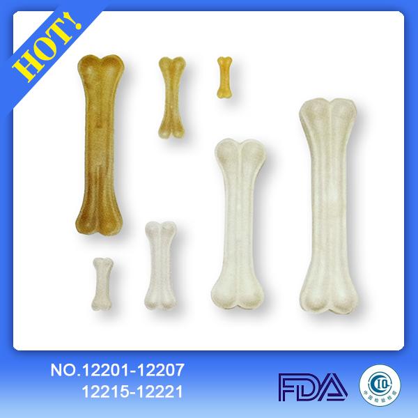 Cattle hide pressed knuckle dog bones 12201-12207 12216-12221