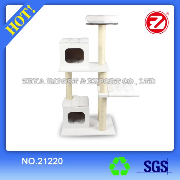 White Cat Tree 21220