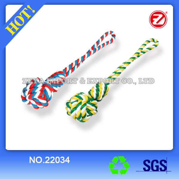 Dog Ball Rope 22034