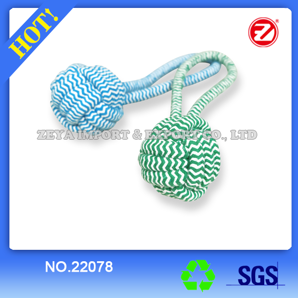 Natural dog rope toy 22078
